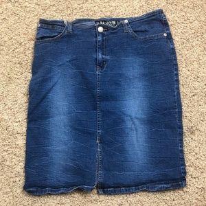 AC - 3998 | Access Basic Pencil Skirt | # 85